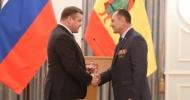 Губернатор Рязанской области наградил воинов-афганцев